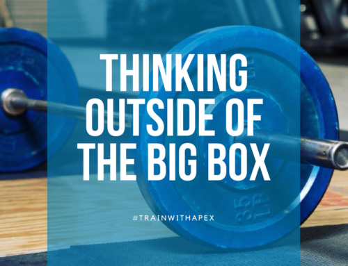 THINKING OUTSIDE OF THE BIG BOX