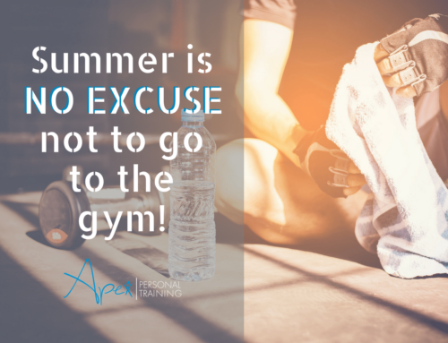 Summer Is No Excuse Not to Go to the Gym!
