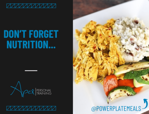 Don't Forget Nutrition